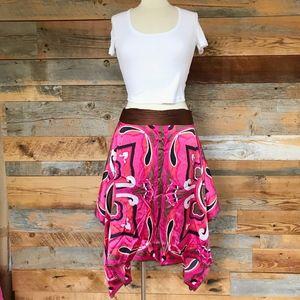 Bebe silky skirt
